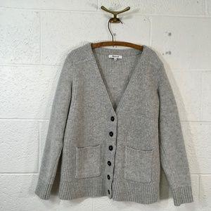 Madewell Merino Wool University Cardigan